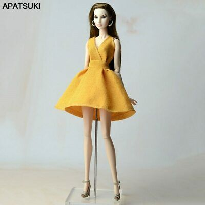 """Orange Classical Doll Dress For 11.5"""" 1/6 Doll Clothes Party Gown Outfits Gift"""