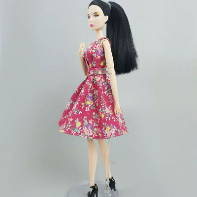 """Blue Pink Party Dress For 11.5"""" Doll Outfits Princess Gown 1/6 Doll Clothes Toy"""