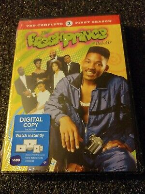 The Fresh Prince of Bel Air: The Complete First Season (DVD,2005) 1st