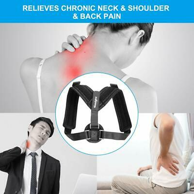 Back Posture Corrector Brace For Slouching  Hunching Relief Neck Shoulder Pain