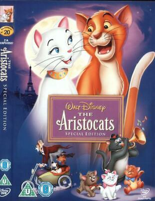 Walt Disney: The Aristocats DVD Film Gold Oval Classic Number 20 UK R2