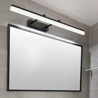 Industrial Black LED Vanity Lights Picture Light bathroom wall sconce bedroom