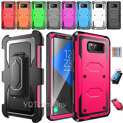 For Samsung Galaxy S10/S9/S8/S7/S6 Edge+ A10e Shockproof Hybrid Cover Phone Case
