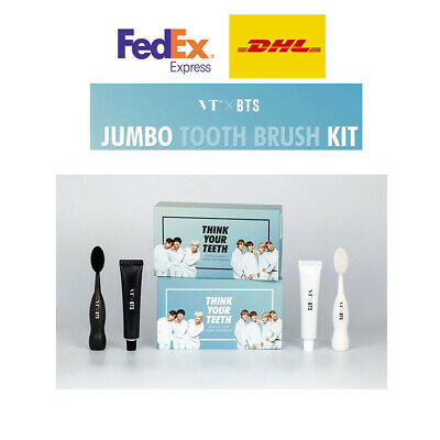 VT X BTS Think your teeth Jumbo kit + 7ea Photocard Black & White Free shipping