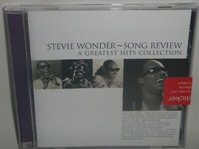 STEVIE WONDER_ SONG REVIEW Greatest Hits Collection CD - Excellent Condition
