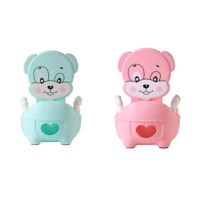 Plastic Potty Chair with Hard Seat Child Toilet Training for Boys & Girls