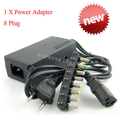 Universal Power Supply Charger for PC Laptop & Notebook, AC/DC Power Adapter 96W