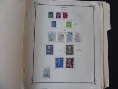 Czechslovakia Extensive Classic Mint/Used Stamp Collection on Scott Album Pages