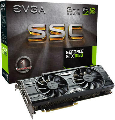 EVGA GeForce GTX 1060 SSC (3GB GDDR5 Graphics Card)
