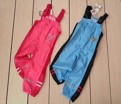 Kids Waterproof Outdoor Rain Pants Baby Rainy Clothing Polyester Solid Outerwear