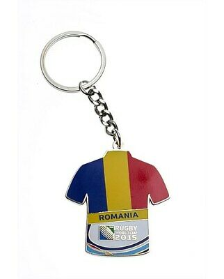 Romania Rugby World Cup 2015 Keyring