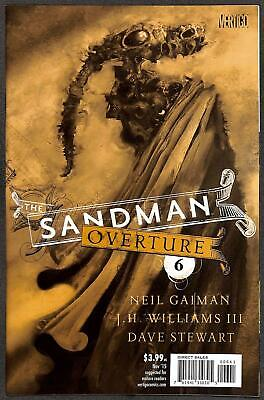 The Sandman: Overture #6 1:200 Variant Cover by Dave McKean