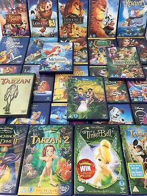 Walt Disney Animated Movies Films Classics HUGE Selection - Pick/Choose Your DVD