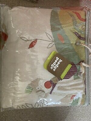 Mamas And Papas Hidge podge Quilt Cover Set and Matching Curtains BNIP