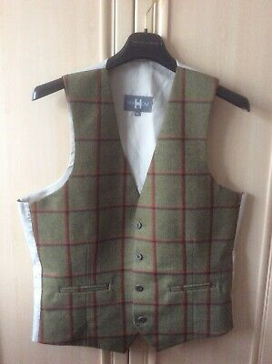 Tweed Waistcoat ,Heirloom .40 Chest, Unworn