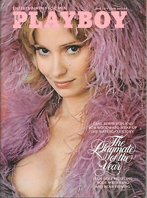 Playboy Magazine-Vintage-June 1974-Great Condition
