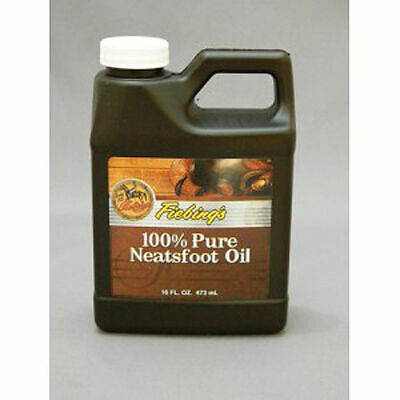 FIEBING'S Neatsfoot Oil 100% Pure 16oz Leather Saddle Boots Tack Preserve