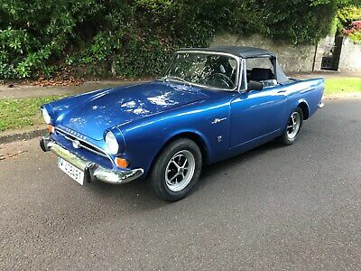 1964 Sunbeam Alpine Convertible,Lhd.fully Refurbished.finished In Midnight Blue.