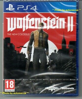 Wolfenstein II The New Colossus 'New & Sealed'  *PS4(Four)*
