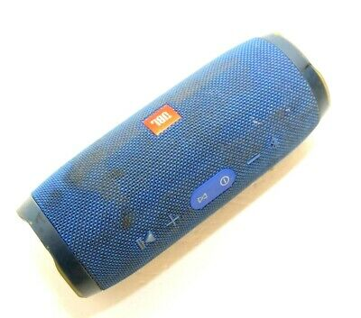 JBL CHARGE 3 Wireless Portable Rechargeable Waterproof Bluetooth Speaker Blue