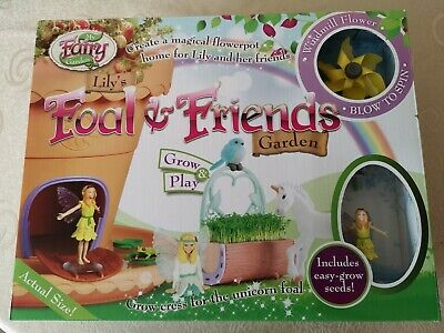 My Fairy Garden - Lily's Foal and Friends Garden - Age 4+ Grow & Play - * New *