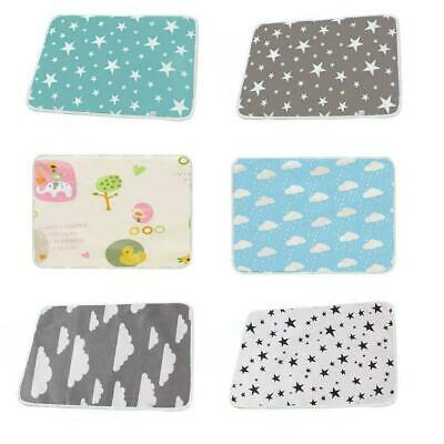 Baby Deluxe Large 50*70cm Changing Mat Soft Padded Wipe Waterproof Clean X2H8