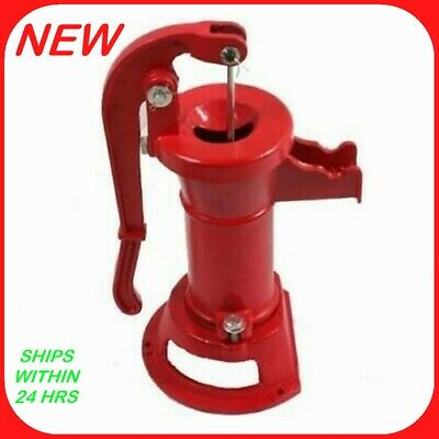 Hand Operated Well Pump  / Cast Iron Water Pitcher Pump   R5
