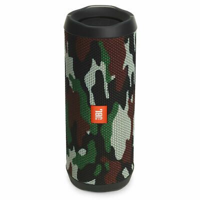 Authentic JBL FLIP 4 Waterproof Bluetooth Speaker Camouflage Free Fast Shipping