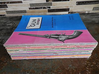 The GUN REPORT 1960 Complete Year Lot & Extra 1961 1964 1965 Firearm VTG Collect