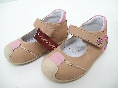 Girls Baby Shoes Ballerina Flats Leather Pink Dress Formal Garvalin Biomechanics