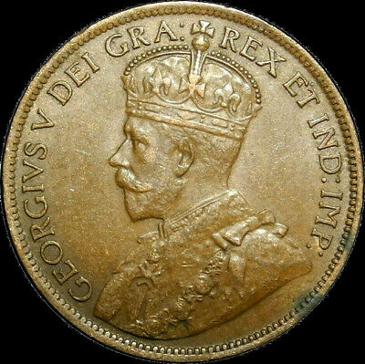 1915 Canada Large Cent George V Nice Coin!