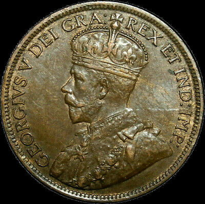 1918 Canada Large Cent George V Nice Coin!