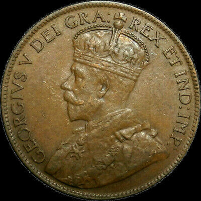 1920 Canada Large Cent George V Nice Coin!