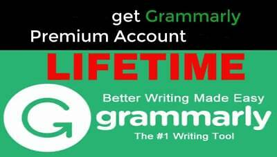 👍Lifetime Grammarly Premium Account ✅🌟Instant delivery🚀