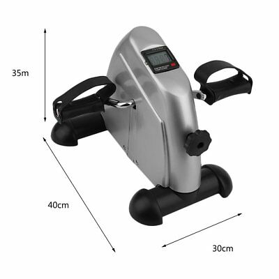 Portable Exerciser Mini Bike Trainer Exercise Machine Home Gym Pedal Cycle ox