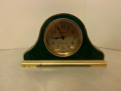 Howard Miller - Mantle Shelf Clock - Westminster Chime - Faux Green Marble
