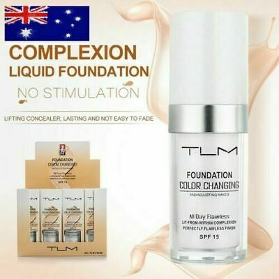 Magic Flawless Color Changing Foundation TLM Makeup Change To Your Skin Tone OD