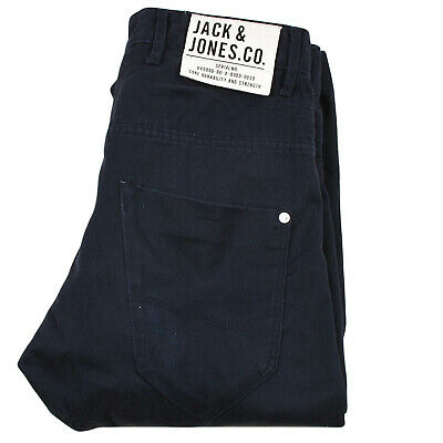 Jack & Jones per Uomo Ragazzo Core Denim Jeans Bottoni Fly Anti Fit Bambini