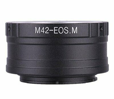 M42 Screw Mount lens to Canon EOS M EOSM mount Mirrorless Camera Adapter FE-M