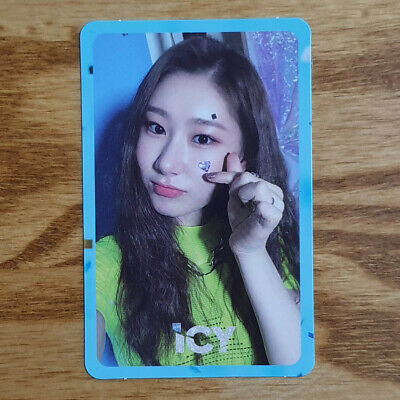 Chaeryeong Official Photocard ITZY IT'z ICY Genuine Kpop