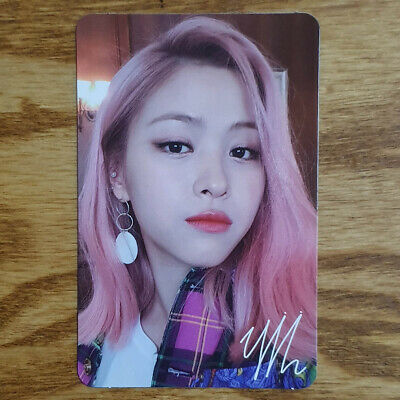 Ryujin Official Photocard ITZY IT'z ICY Genuine Kpop