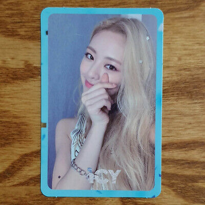 Yuna Official Photocard ITZY IT'z ICY Genuine Kpop