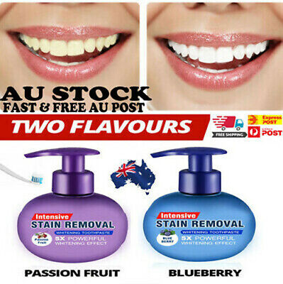 Intensive Stain Removal Whitening Toothpaste Fight Bleeding Gums Toothpaste AUS