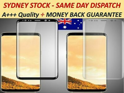 Samsung Galaxy S10 S9 Note 10 9 J5 A8 S9 S8 edge Tempered Glass Screen Protector