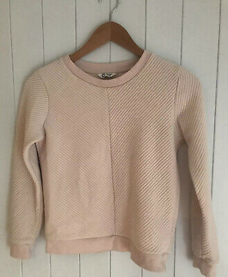 Girls Hoodie Size 11-12 Years CUBUS dusky Pink light pink salmon