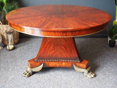 Antique Style Mahogany Extending Dining or Centre Table UK DELIVERY AVAILABLE