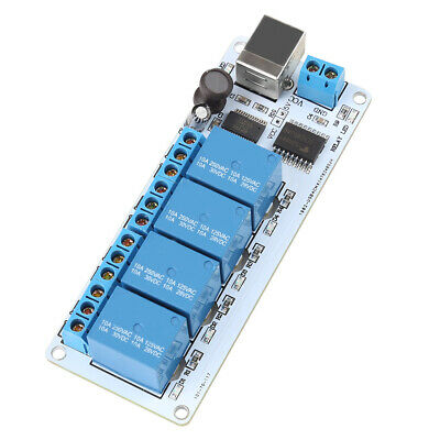 8-CHANNEL 12 V USB Relay Board Module Controller 4 Automation