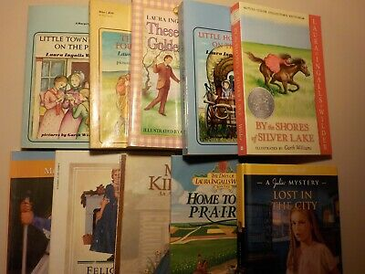 Lot of 10; Laura Ingalls Wilder; Little house; American girl..