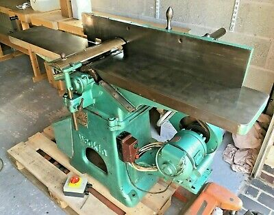 6 Sip Bench Surface Planer Jointer 240v Cast Iron