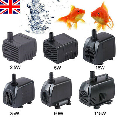 1800L/H Electric Water Feature Pump Small Fountain for Outdoor Garden Fish Pond